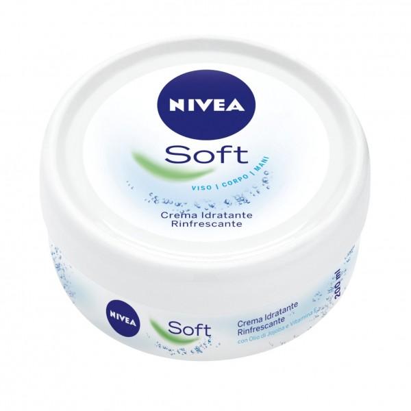 Kem dưỡng ẩm NIVEA Soft chống nẻ & dưỡng da, 200 ml