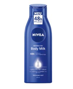Sữa dưỡng thể Nivea Reichhaltige Body Milk cho da khô, 400ml