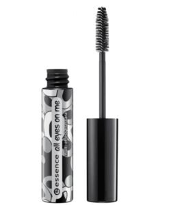 Mascara Eessence all eyes on me waterproof soft black 01, 8 ml