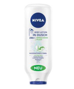 Kem xả dưỡng thể Nivea In-dusch Body Lotion 400 ml