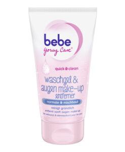 Sữa rửa mặt Bebe Young Care Waschgel & Augen Make-up Entferner