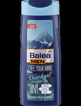 Dầu gội, sữa tắm, bọt cạo râu (3in1) Balea - Đức