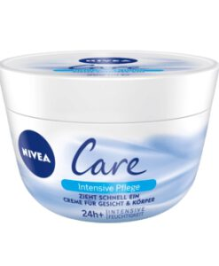 Kem dưỡng ẩm Nivea Care Intensive Pflege chống khô da nứt nẻ, 200ml