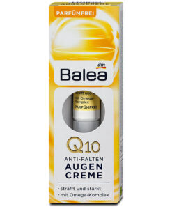 Kem dưỡng da vùng mắt Balea Anti Falten Augencreme Q10 - Mẫu mới 2018
