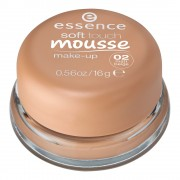 Phấn tươi Essence soft touch mousse make-up 02 matt beige, 16 g