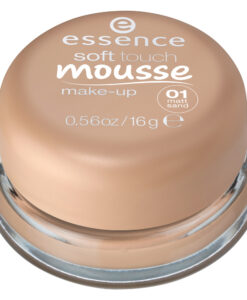 Phấn tươi Essence soft touch mousse make-up 01 matt sand - Hàng xách tay Đức