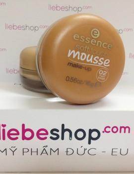 Phấn tươi Essence soft touch mousse make-up - 02 matt beige Hàng xách tay Đức