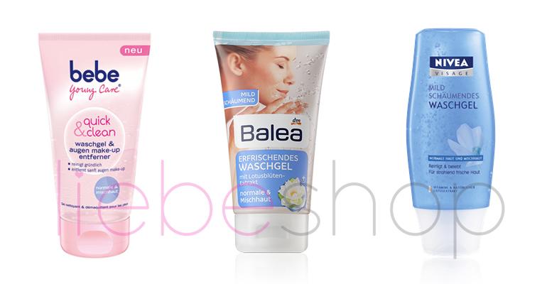 Sữa rửa mặt xách tay nhập khẩu Đức chính hãng bebe young nivea balea