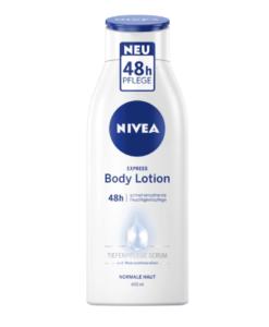 Sữa dưỡng thể Nivea Body Lotion Express Feuchtigkeit, 400 ml - cho da thường