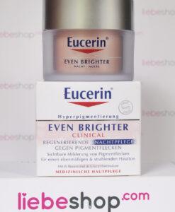 Kem dưỡng da Eucerin® EVEN BRIGHTER Nachtpflege - mờ thâm nám, làm sáng và mịn da - Mỹ phẩm Đức chính hãng - LiebeShop.com
