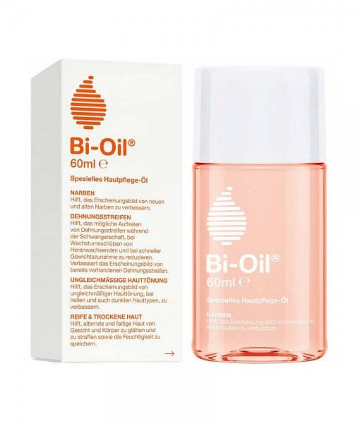 Dầu làm mờ sẹo và vết rạn nứt da Bi-Oil Hautpflege Körperöl (Bio-Oil), 60 ml