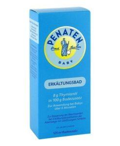 Dầu tắm Penaten Erkältungsbad chống cảm cúm, tăng sức đề kháng, 125 ml