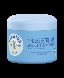 Kem dưỡng da Penaten Baby Pflegecreme Gesicht & Körper cho trẻ sơ sinh và trẻ em, 100 ml