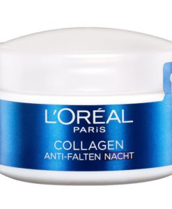 Kem dưỡng da ban đêm L'Oréal Paris Collagen Anti-Falten 50ml - giảm mờ nếp nhăn, chống lão hoá