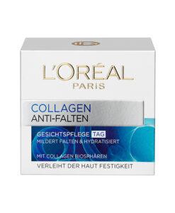 Kem dưỡng da ban ngày L'Oréal Paris Collagen Anti-Falten 50ml - giảm mờ nếp nhăn, chống lão hoá - LiebeShop.com - Mỹ phẩm Đức - EU chính hãng.