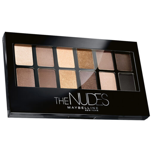 Phấn mắt Maybelline The Nudes Eyeshadow Palette, bảng 12 màu
