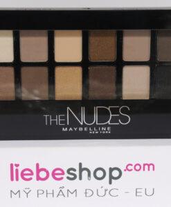 Phấn mắt Maybelline New York Lidschatten Eyestudio Nudes - 12 màu