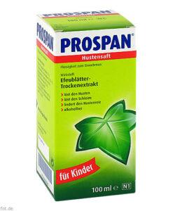 Thuốc ho Prospan Hustensaft dạng siro, 100ml