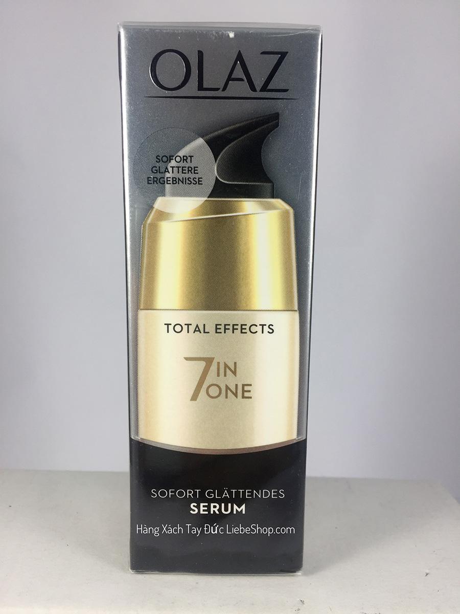 Serum Olaz Total Effects 7 in 1, 50ml - Giảm nếp nhăn, sáng mịn da
