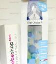 Bình sữa cổ rộng NUK First Choice nhựa PP núm Silicone 300 ml – Hàng xách tay Đức