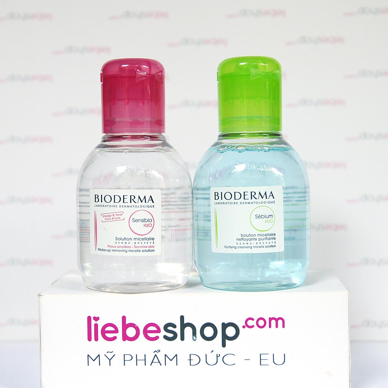 Nước tẩy trang Bioderma - Mỹ phẩm xách tay Đức - Pháp Ý EU