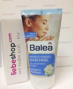Sữa rửa mặt Balea chiết xuất hoa sen, 150ml