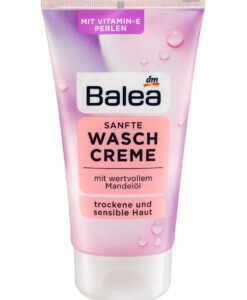 Sữa rửa mặt Balea Sanfte Waschcreme cho da khô và da nhạy cảm, 150 ml