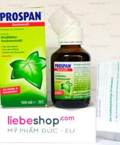Thuốc ho Prospan Đức dạng Siro cho trẻ em, 100ml
