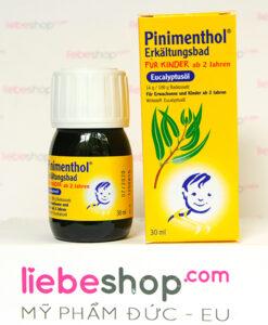 Tinh dầu tắm chống cảm Pinimenthol cho trẻ em