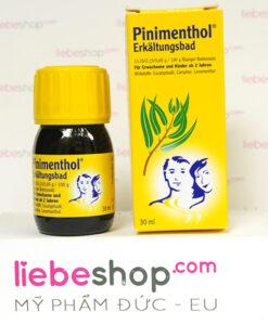 Tinh dầu tắm chống cảm Pinimenthol cho người lớn