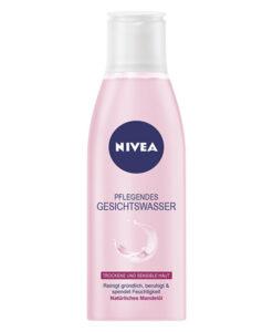 Nước hoa hồng Nivea cho da khô và da nhạy cảm Nivea Pflegendes Gesichtswasser 200 ml