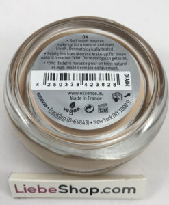 Phấn tươi Essence soft touch mousse make-up 04 matt ivory, 16 g