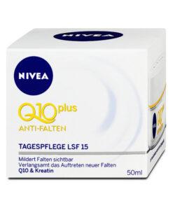 Kem dưỡng da chống lão hóa Nivea Q10 Plus ANTI-FALTEN LFS 15
