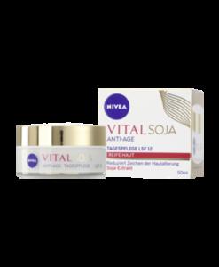 Kem dưỡng da chống lão hóa Nivea Vital Soja ANTI-AGE ban ngày, 50 ml