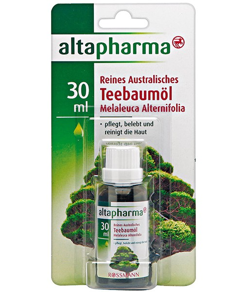 Tinh dầu trà Úc trị mụn (tea tree oil) Teebaumöl – trị mụn, khử mùi, 30 ml