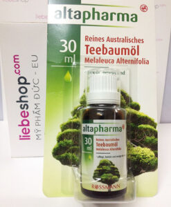 Tinh dầu trà Úc (tea tree oil) Teebaumöl - trị mụn, khử mùi, 30 ml