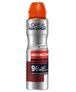 Xịt khử mùi nam Loreal Men Expert Invincible Man, 150ml
