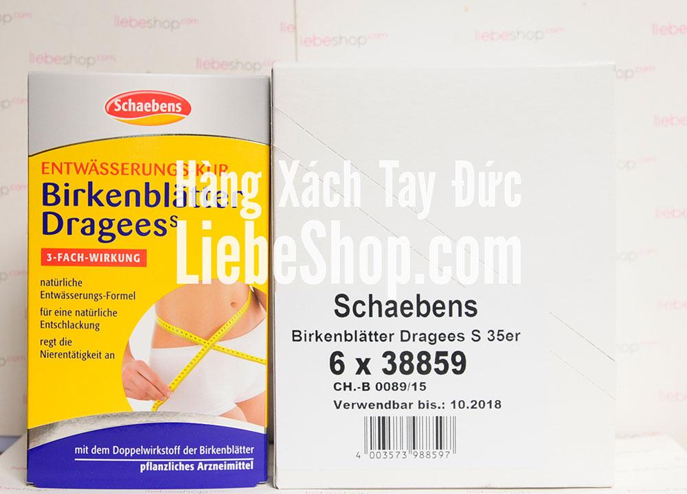 Thuốc giảm cân Schaebens của Đức