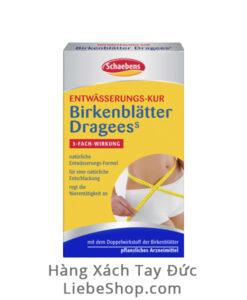 Thuốc giảm cân Schaebens Birkenblätter Dragees, 35 viên / hộp - Hàng xách tay Đức