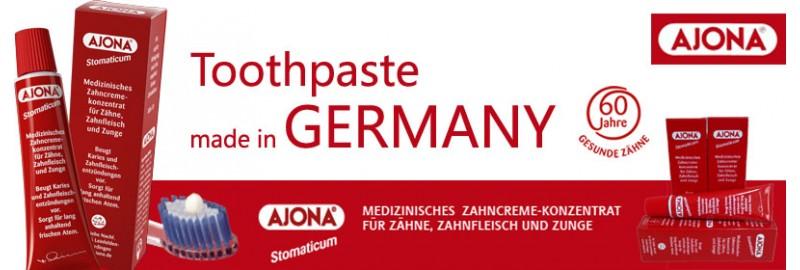 Kem đánh răng y tế Ajona Stomaticum trị viêm nướu, chảy máu chân răng, ngừa cao răng, 25ml