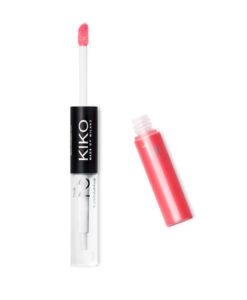 Son KIKO Double Touch Lipstick 108 Watermelon, đỏ dưa hấu