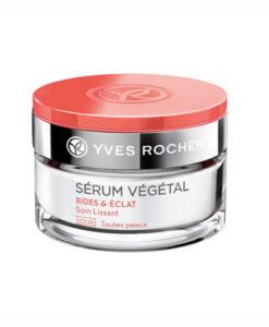 Kem dưỡng da Yves Rocher Serum Vegetal RIDES & ECLAT ban ngày - chống nếp nhăn & sáng mịn da, 50ml