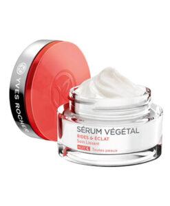 Kem dưỡng da đêm Yves Rocher Serum Vegetal RIDES & ECLAT chống nếp nhăn và sáng đẹp da, 50ml
