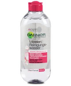 Nước tẩy trang Garnier da khô và da nhạy cảm, 400 ml - Hàng xách tay Đức