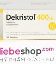 Thuốc bổ sung vitamin D3 Dekristol 400 I.E – Hàng xách tay Đức
