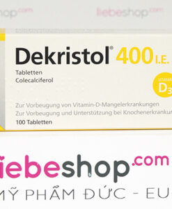 Thuốc bổ sung vitamin D3 Dekristol 400 I.E - Hàng xách tay Đức