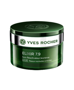 Kem dưỡng da Yves Rocher Elixir 7.9 Soin Réactivateur Jeunesse JOUR cho da thường và da hỗn hợp, ban ngày 50ml