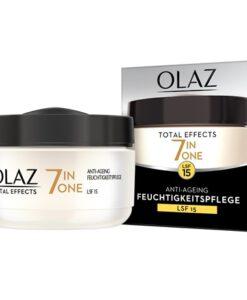 Kem dưỡng da chống lão hoá Olaz Total Effects 7 in 1 LFS 15, kem ngày 50 ml