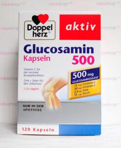 Viên uống bổ sụn khớp Doppelherz aktiv Glucosamin 500mg, 120 viên