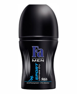Lăn khử mùi nam Fa Men Deo Roll-on Sport Ultimate Dry Power Fresh 96h, 50ml